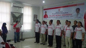 Pelantikan Pengurus PMI Kabupaten Nias Barat Periode 2016 – 2021